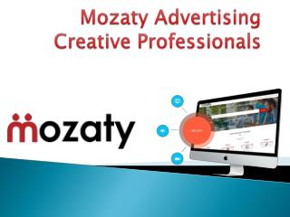 Advertising and Branding Consultant in India: Mozaty