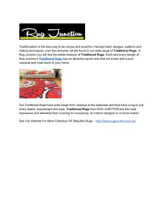 Traditional Rugs from RUG JUNCTION