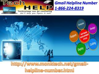 Gmail Help number 1-866-224-8319 – A Panacea To Your Problems