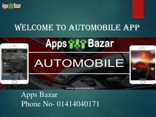 AppsBazar | Best Automobile App | Pre-Owned Car Dealer App | Car Dealer App