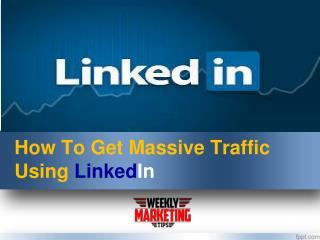 Linkedin Hacks to Get MASSIVE website traffic growth| Sales Secret
