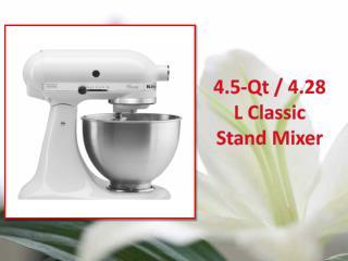 KitchenAid  4.5 Qt  4.28 L Classic Stand Mixer