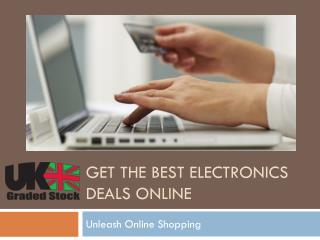 Get The Best Electronics Deals Online