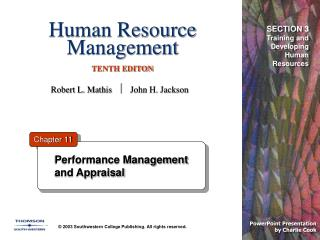 Human Resource Management   TENTH EDITON