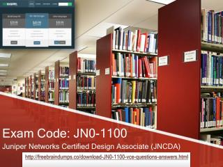 How i can Pass JN0-1100 exam