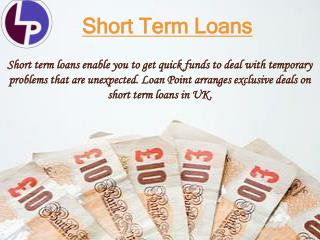 Short Term Loans with Instant Approval | Loan Point