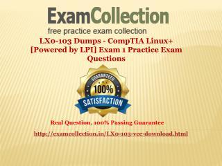 LX0-103 Practice Exam Questions