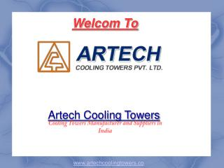 Fan-less FRP Cooling Tower Manufacturer - Artech Cooling Towers