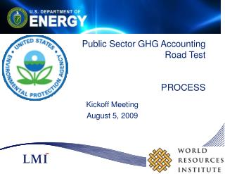 Public Sector GHG Accounting