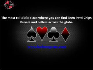Buy teen patti chips online