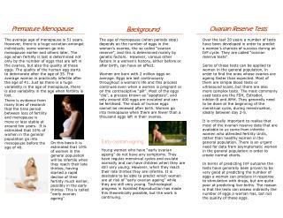 Ovarian Reserve Test Leaflet