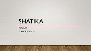 Shop for Plain Silk Sarees Online