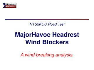 NTS2KOC Road Test
