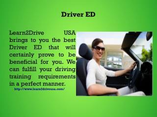 Driver ED
