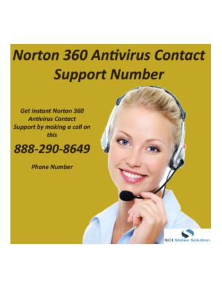 Norton 360 Antivirus Contact Support Number | 888-290-8649