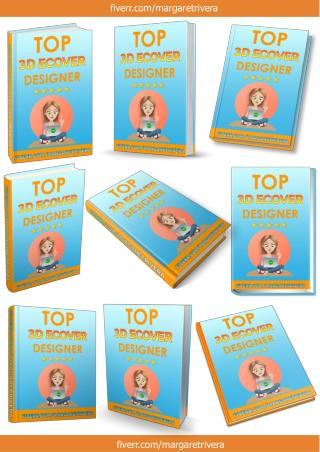 3D Ebook Cover Report Box CD DVD Template_HARDBACK BOOK