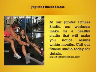 Jupiter Fitness Studio