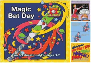 Magic bat day - Children's book by Kevin Christofora