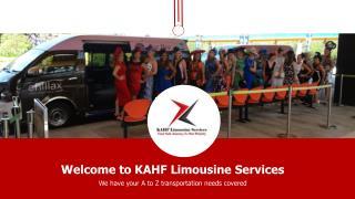 KAHF Limousine Services Singapore