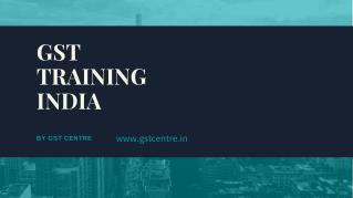 GST Training India