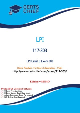 117-303 IT Certification Test Material