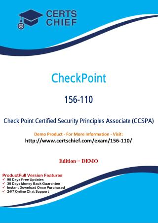 156-110 IT Certification Test Material