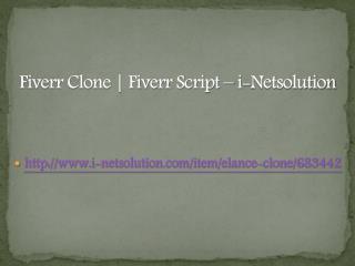 Fiverr Clone | Fiverr Script – i-Netsolution