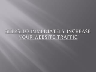 How To increase yor Website Traffic?