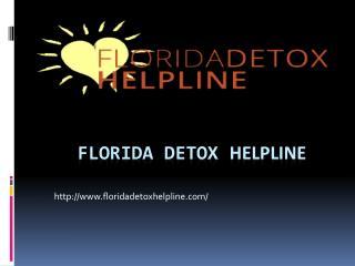 Detox Facilities Helpline and Wellness Center