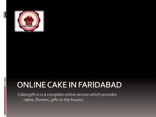 Online Cake Delivery, try it you'll like it.