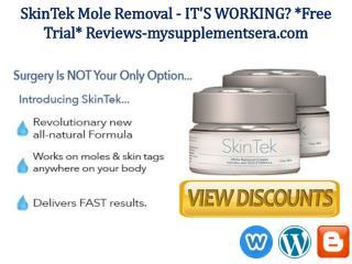 SkinTek *Free Trial Pack* @ http://www.mysupplementsera.com/skintek-reviews/