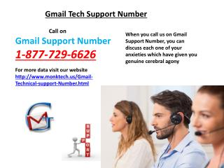 Via 1-877-729-6626 Gmail Support Number Get Instant Gmail Tech Support