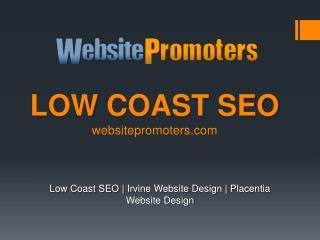 Low Coast Seo - websitepromoters.com