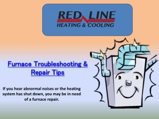 Furnace Troubleshooting & Repair Tips