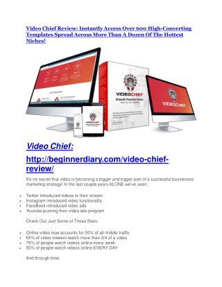 Video Chief review - Video Chief (MEGA) $23,800 bonuses