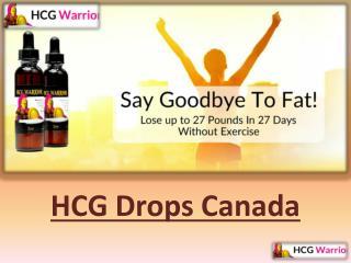Hcg Drops Canada