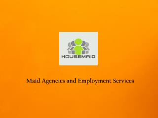 Maid Agencies in Singapore
