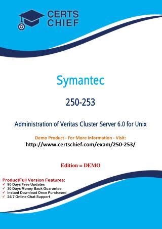 250-253 Latest Certification Practice Test