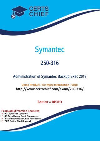 250-316 Latest Certification Practice Test