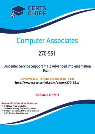 270-551 Exam Practice Questions
