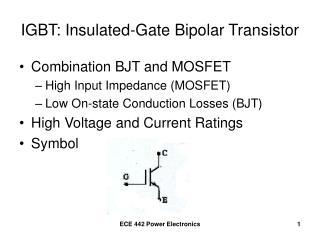 IGBT: Insulated-Gate Bipolar Transistor
