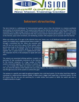 Internet structuring