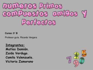 Integrantes: Mat as Dami n. Zaida Verdugo.  Camila Valenzuela. Victoria Zamorano.