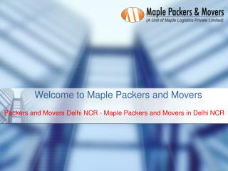 Get Best Packers and Movers Service Provider in Delhi NCR