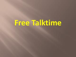BEST ANDROID APPS TO EARN TALKTIME