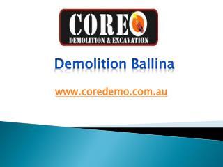 Demolition Ballina - www.coredemo.com.au