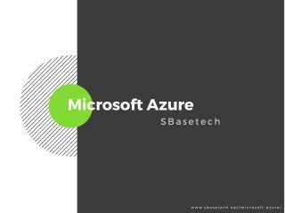 SBase's Microsoft Azure