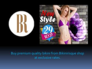 Shop bikini online at most reasonable prices