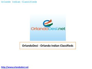 OrlandoDesi – Orlando Indian Classifieds