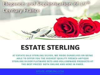 Introduction of Estate Sterling